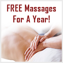 free massages for a year boston