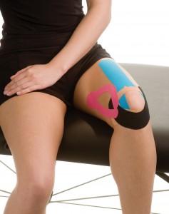 kinesiology tape knee