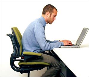 laptop posture