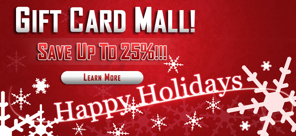 Holiday Gift Cards!